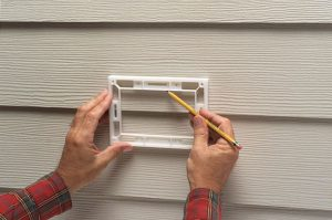 Mounting Security Camera to Vinyl Siding Tips Step 1